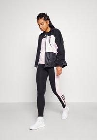 adidas Performance - Training jacket - black/clear pink - 1