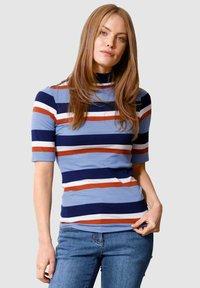 Laura Kent - Print T-shirt - marineblau - 0