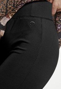 Cream - CRLADDY - Leggings - Trousers - pitch black - 3