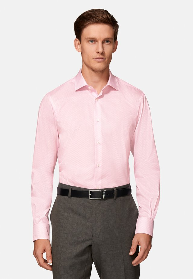 SLIM FIT POPLIN  - Shirt - pink