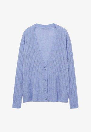 PARTON - Cardigan - porseleinblauw