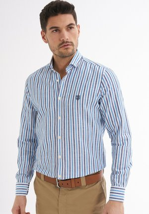 RENDO GESTREIFTES MUSTER - Shirt - blau