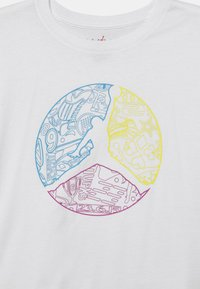 Jordan - JUMPMAN COLOUR UP TEE - T-shirt con stampa - white - 2
