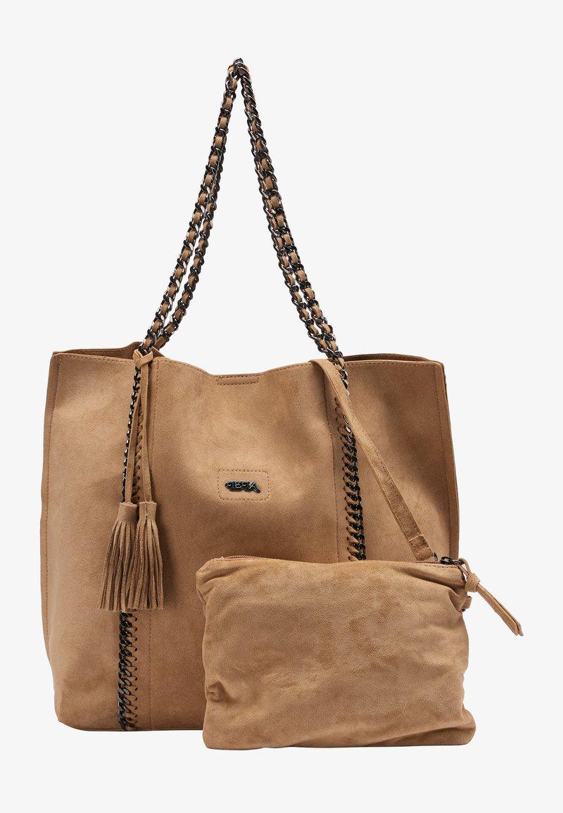 IZIA - Tote bag - camel