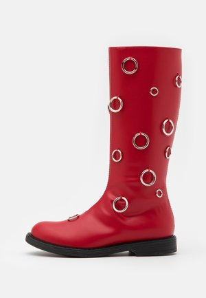 Stiefel - red
