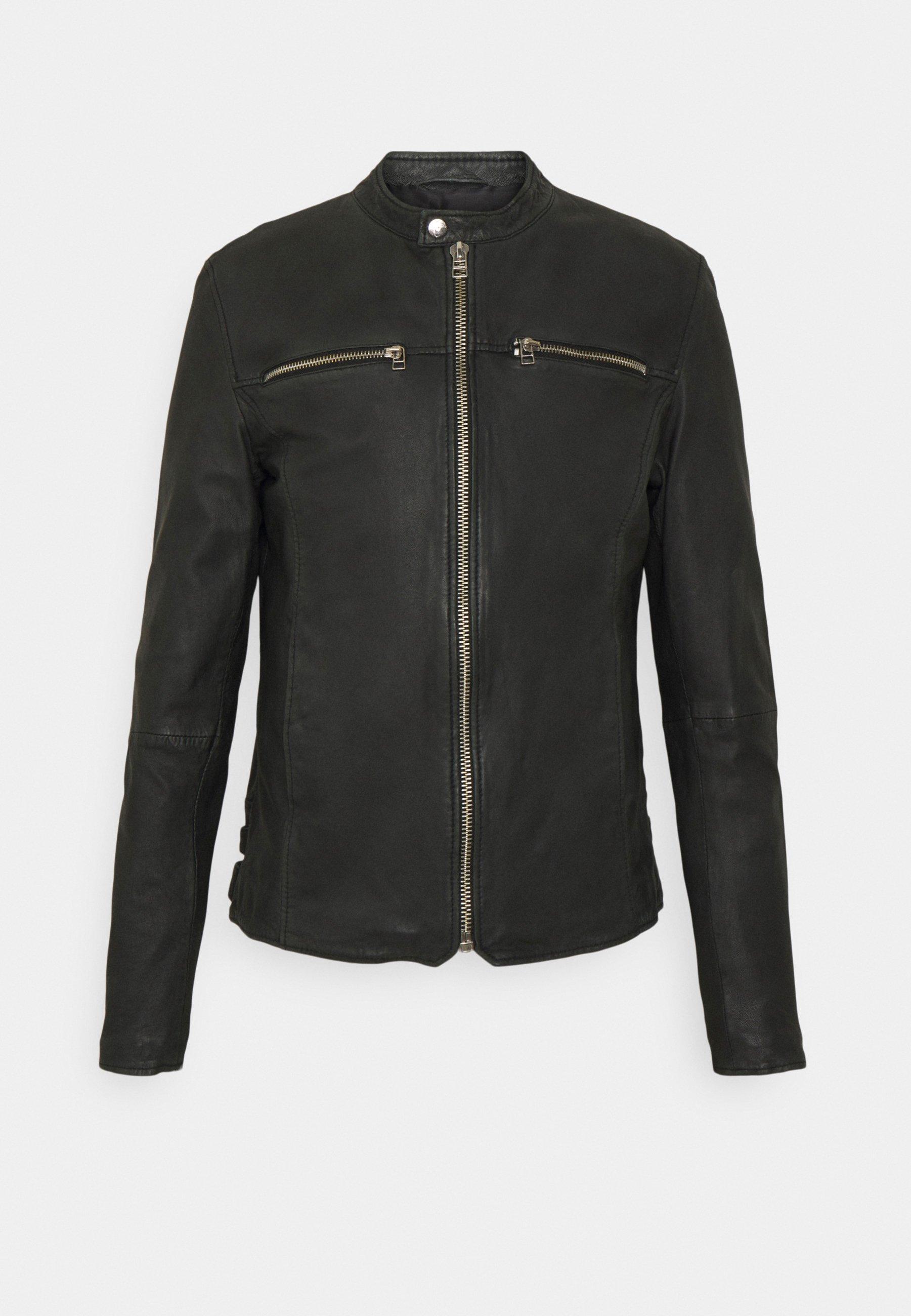 Men GC EAGLE BIKER - Leather jacket