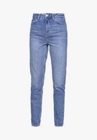 Topshop Tall - MOM CLEAN - Relaxed fit jeans - blue denim - 3