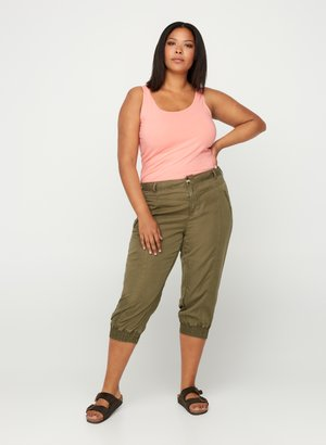 3/4 sports trousers - green