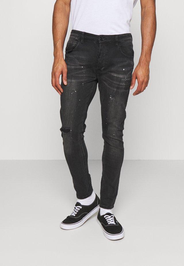 VENICE SUPERSLIM - Jeans Skinny - black wash