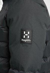 Haglöfs - DALA MIMIC PARKA  - Talvitakki - true black - 5