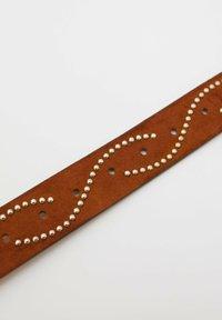 PULL&BEAR - MIT SCHLANGENSCHNALLE - Belt - brown - 3
