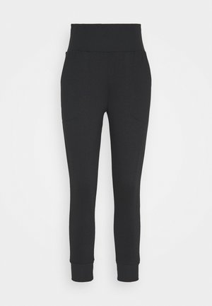 FLOW HYPER PANT - Pantalones deportivos - black/dark smoke grey
