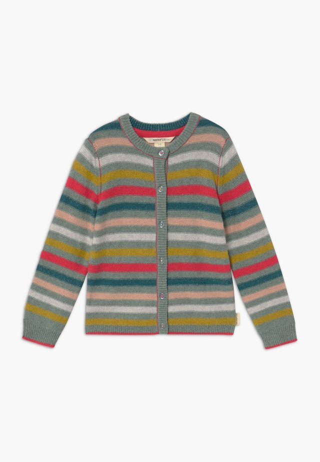 MARLOW STRIPE - Gilet - blue/pink/yellow