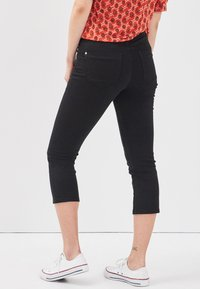 Cache Cache - SCHLANKE EINFARBIGE BASIC-HOSE - Trousers - black - 2
