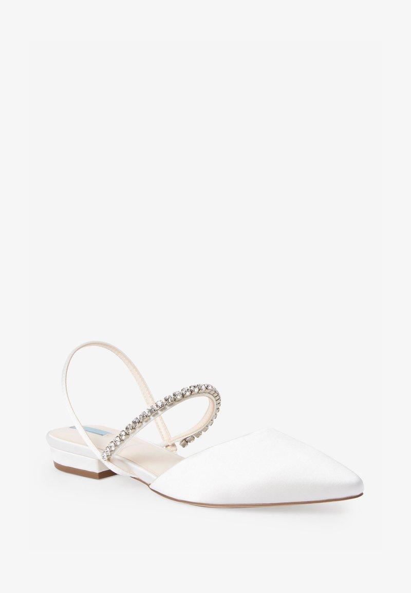 Next - Sandaalit nilkkaremmillä - off-white