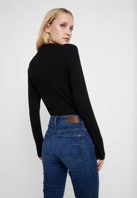 G-Star - 3301 HIGH SKINNY - Jeans Skinny Fit - medium blue aged - 3