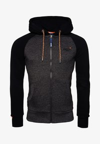 Superdry - Zip-up hoodie - dark gray - 4