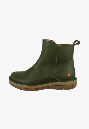 ELEGANTE MISANO CHELSEA - Platform ankle boots - khaki