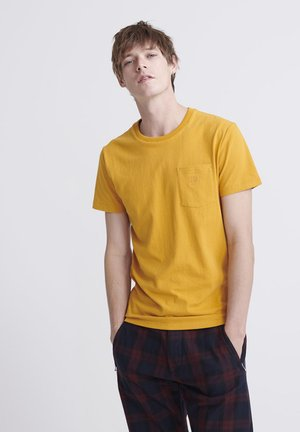 DENIM GOODS CO  - T-shirt basic - ochre