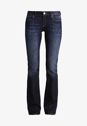 BELLA - Bootcut jeans - rinse miami stretch