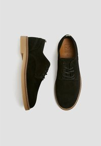PULL&BEAR - Trainers - black - 1