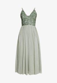Lace & Beads Tall - IRINA MIDI TALL - Koktejlové šaty/ šaty na párty - mint - 4