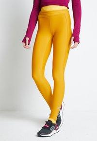 adidas Performance - ASK - Leggings - dark yellow - 4