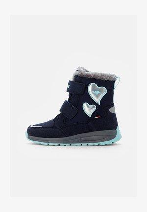 LURVE - Winter boots - dark navy/mint