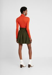 NAF NAF - EMARLY - Mini skirts  - urban khaki - 2
