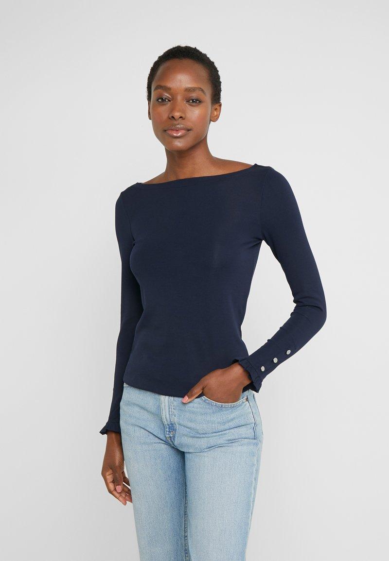 Lauren Ralph Lauren - T-shirt à manches longues - navy