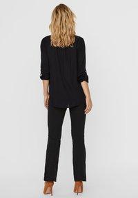 Vero Moda - Button-down blouse - black - 1