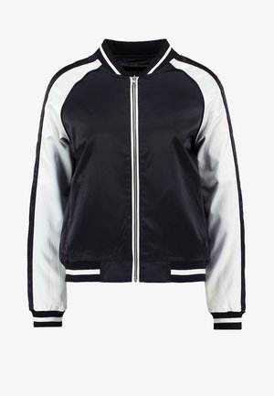 Bomber Jacket - black/offwhite