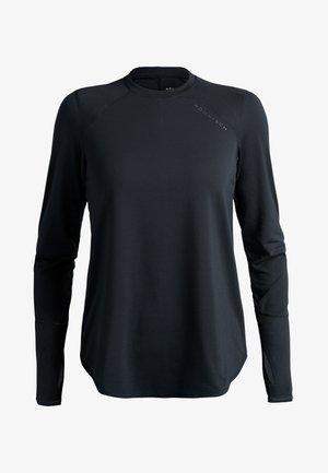 CLARA LOOSE LS - Long sleeved top - grey melange