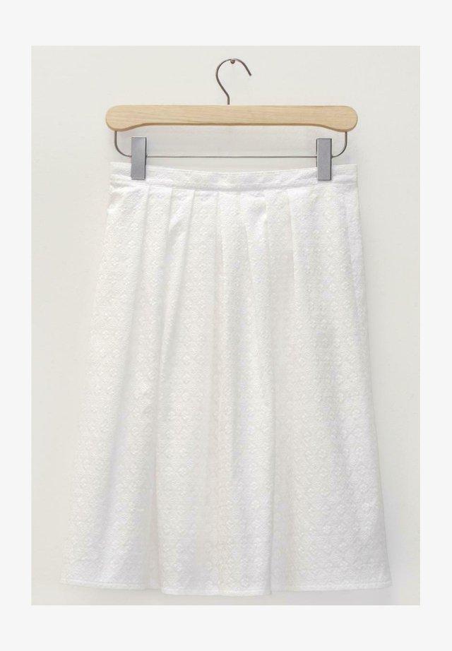 KLESSHEIM-4-LEX - A-line skirt - weiß