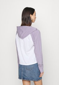 Hollister Co. - Hoodie - white/lavender - 2