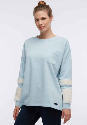 Sweatshirt - smoke mint