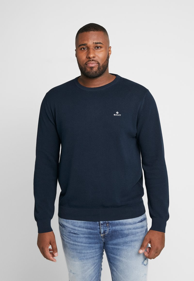 GANT - PLUS CREW - Jumper - evening blue