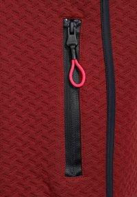 Cecil - MIT STRUKTUR - Zip-up sweatshirt - braun - 4