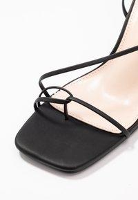 BEBO - RICHIE - Sandaler med høye hæler - black - 2