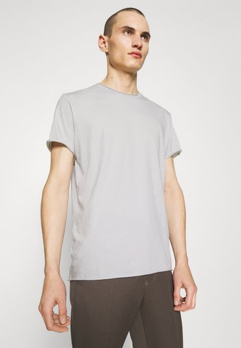 ROLL NECK TEE - Jednoduché triko - sterling