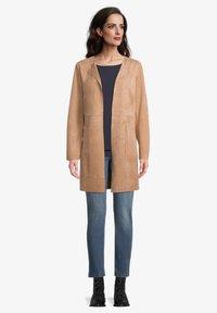 Betty Barclay - OHNE VERSCHLUSS - Short coat - beige - 1