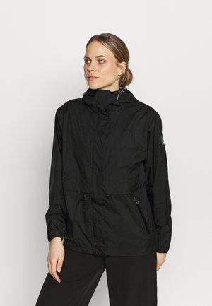 ENOLA - Hardshell jacket - black
