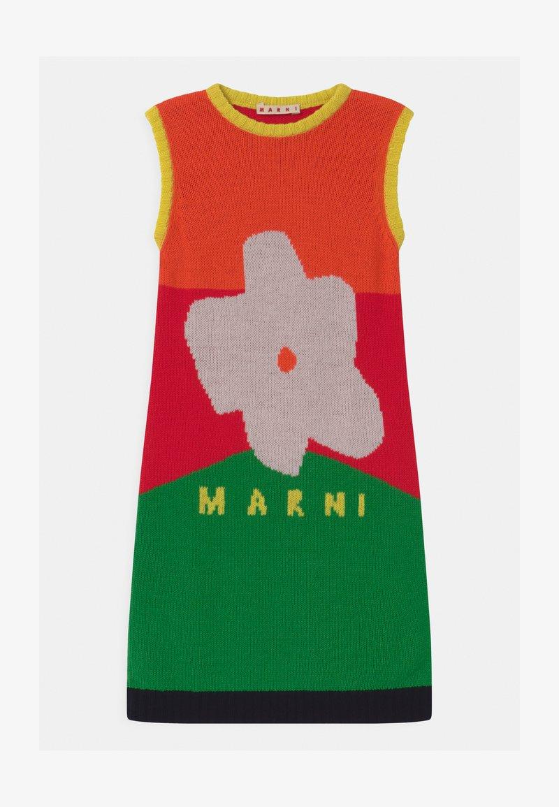 Marni - ABITO - Jumper dress - geranium red