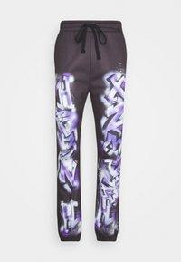 Jaded London - GRAFFITI JOGGERS - Teplákové kalhoty - black - 0