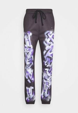 GRAFFITI JOGGERS - Jogginghose - black
