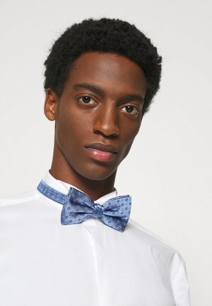 FLORAL DESIGN BOWTIE - Bow tie - blue