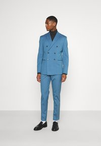Selected Homme - SLHSLIM DAXLOGAN - Completo - heritage blue - 0