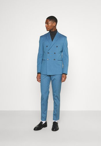 SLHSLIM DAXLOGAN - Kostym - heritage blue