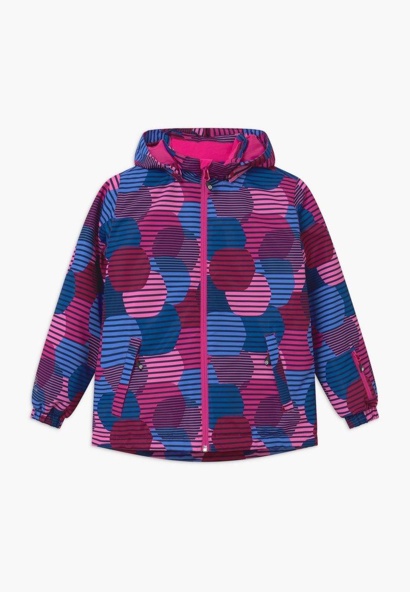 Color Kids - Snowboard jacket - beet red