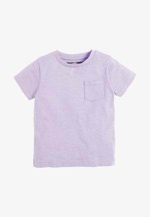 SHORT SLEEVE - Basic T-shirt - mottled purple